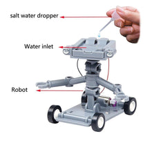 Load image into Gallery viewer, DIY Intelligent Toy Saltwater Powered Robot Set