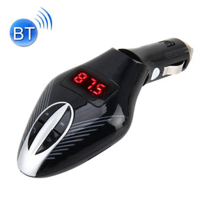 610S Car FM Transmitter with Remote Control, Support SD Card and Hands-free Answer Phone