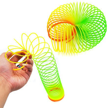 Load image into Gallery viewer, 3 PCS Colorful Slinky Toy Rainbow Circles, Random Color Delivery