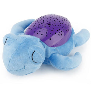 Cute Sea Turtle Design Babysbreath Sleep Projector Children Turtle Lamp Toys LED Colorful Night Light