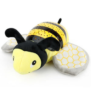 Cute Bee Design Babysbreath Sleep Projector Children Turtle Lamp Toys LED Colorful Night Light