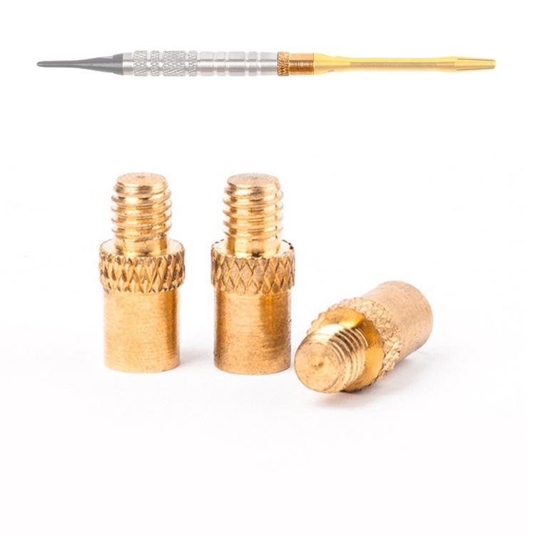 3 PCS Replacement Professional 1.8g 14mm Brass Dart Weights Add Accentuator Darts Tool Accessories