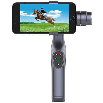 Vibration Reduction Bluetooth Wireless Handheld Selfie Monopod Stabilizer Self-timer Lever with Balance System, For iPhone, Galaxy, Huawei, Xiaomi, LG, HTC and Other Smart Phones