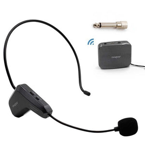 2.4GHz Wireless Audio Transmission Electronic Pickup Microphone, Transmission Distance: 20-30m
