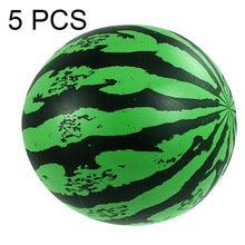 Load image into Gallery viewer, 5 PCS Children Beach Summer Party Inflatable PVC Watermelon Ball Toy