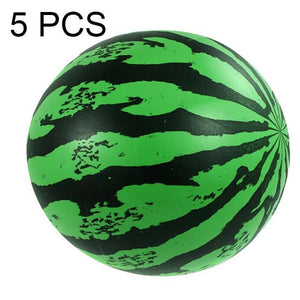 5 PCS Children Beach Summer Party Inflatable PVC Watermelon Ball Toy