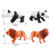 Load image into Gallery viewer, 8 in 1 Cute Animal Kingdom Decoration Toys Set