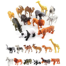 Load image into Gallery viewer, 12 in 1 Cute Animal Kingdom Decoration Toys Set