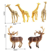 Load image into Gallery viewer, 6 in 1 Cute Animal Kingdom Decoration Toys Set