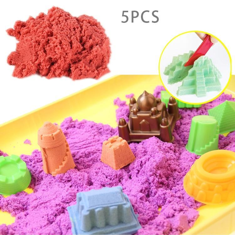 5 PCS Modeling Clay Ultra-light Clay Magic Modeling Sand Putty, Random Color Delivery