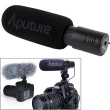 Load image into Gallery viewer, D1 Directional Condenser Shotgun Microphone, Support 360 Degree Pan / 180 Degree Tilt