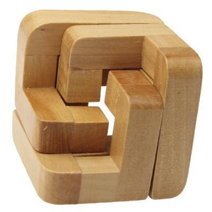 Adult Educational Wooden 3D Interlock Intelligence Toy