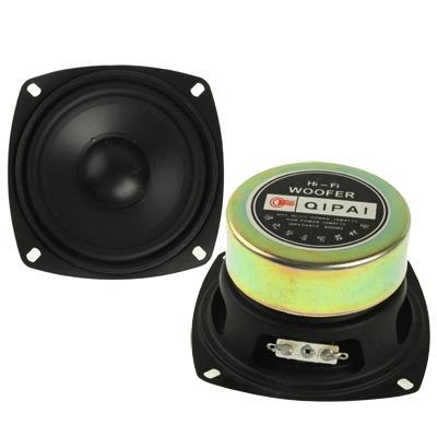 30W Midrange Speaker, Impedance: 4ohm, Inside Diameter: 3.5 inch(Black)