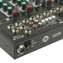 Load image into Gallery viewer, 7 Channels Professional Mixing Console and Aux Paths Plus Effects Processor
