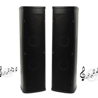 40W 3 inch Horn Speakers for Home Theater(Black)