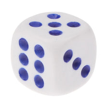 Load image into Gallery viewer, 40 PCS Gaming Dice Set for Leisure Time Playing, Size: 11mm x 11mm x 11mm(White)