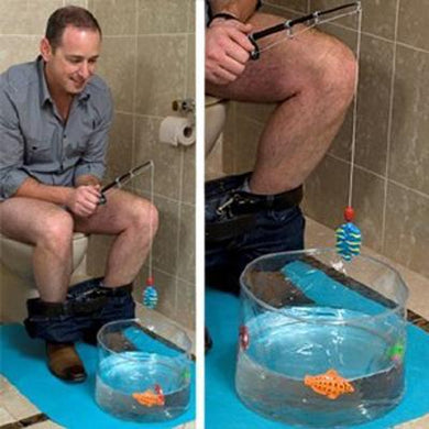 Toilet Fishing Leisure Fishing Game