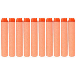 10 PCS 7.2cm EVA Soft Blaster Darts Bullets(Orange)