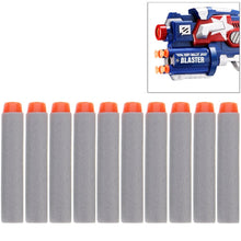 Load image into Gallery viewer, 10 PCS 7.2cm EVA Soft Blaster Darts Bullets(Grey)
