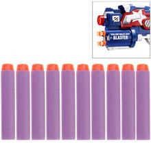 Load image into Gallery viewer, 10 PCS 7.2cm EVA Soft Blaster Darts Bullets(Purple)