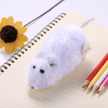 Load image into Gallery viewer, 3 PCS Creative Funny Clockwork Spring Power Plush Mouse Rat Pet Playing Toy, Random Color Delivery