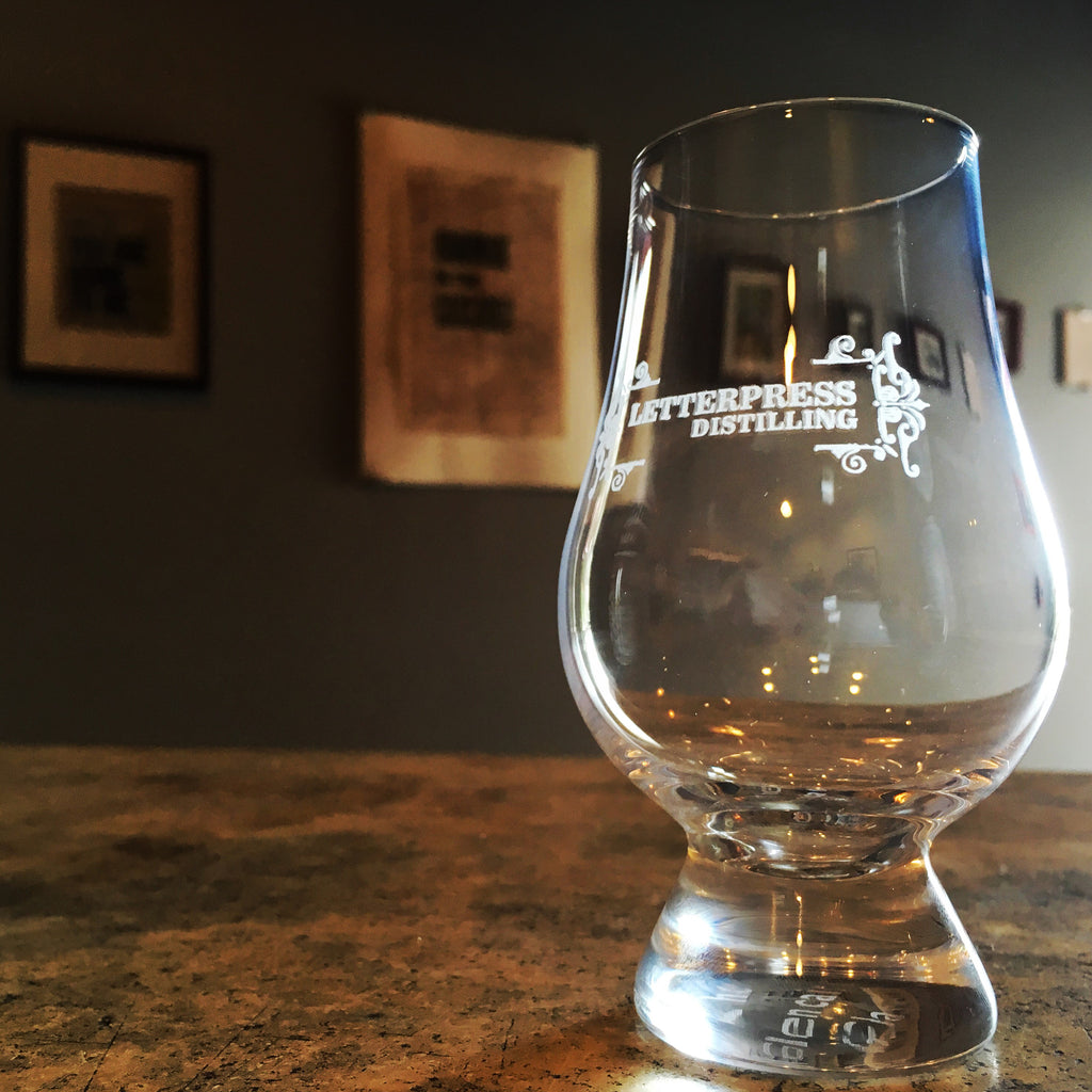 Glencairn Glass (Letterpress-branded)