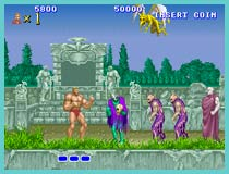 altered beast retro game