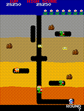 dig-dug retro game
