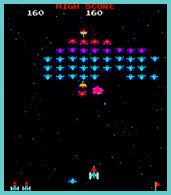 galaxian retro game