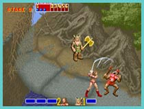 golden axe retro game