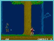 Legend of Kage Arcade Game
