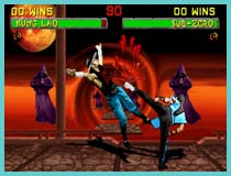mortal kombat 3 retro game