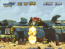 metal slug arcade game