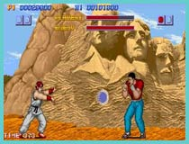 street fighter retro game