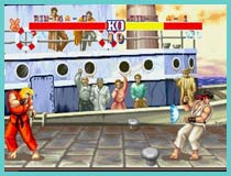 street fighter 2 arcade game