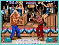 violence fight retro game