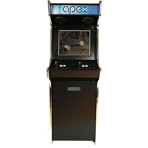 apex stand-up arcade machine - front