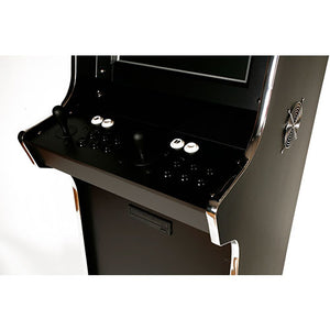 Apex upright arcade cabinet control panel