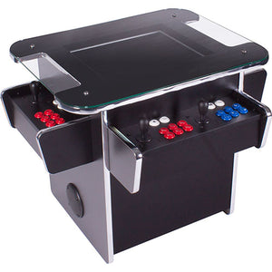 gt1500 3-sided black arcade machine