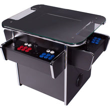 Load image into Gallery viewer, black gt1500 3-sided tabletop arcade machine