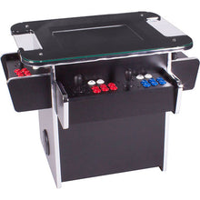 Load image into Gallery viewer, gtx black 3-sided sit-at arcade table