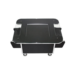 gt coffee table arcade machine in black