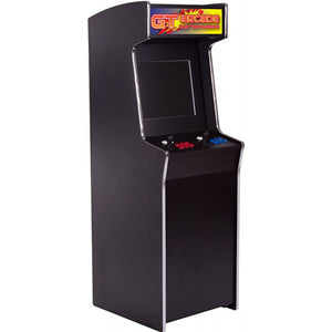 GTX stand-up arcade machine with GT logo marquee
