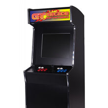 Load image into Gallery viewer, GTX upright arcade cabinet close up