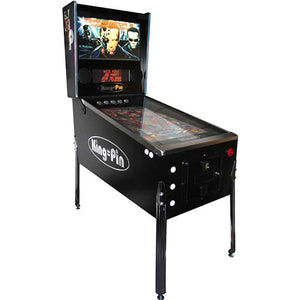 kp virtual pinball table in black