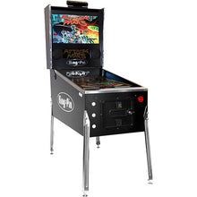 Load image into Gallery viewer, king-pin virtual pinball machine in black