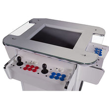 Load image into Gallery viewer, gt white tabletop arcade cabinet over 2500 retro games