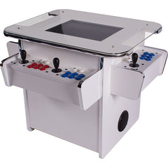 gt1500 white 3-sided tabletop arcade