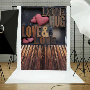 Love Heart Photography Background Photo Props Studio Backdrop Stage Decoration Fabric Photo Prop Studio Backdrop Decor