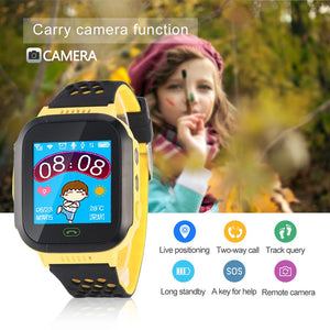Multi-function Children's Smart Watch Remote Camera SOS Emergency Alarm Watch Baby Safe Health Sleep Wristwatch